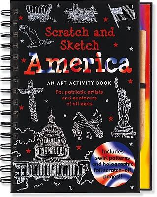 Scratch & Sketch America By Nemmers, Tom/ Zschock, Martha (ILT)